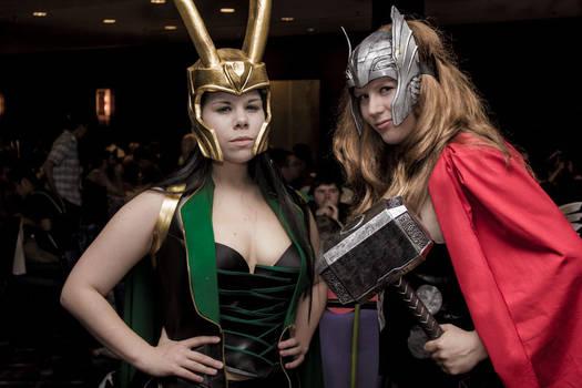 ACen Female Thor and Loki