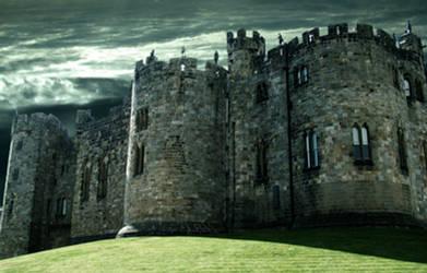 castle stock premade back 1 by DemoncherryStock