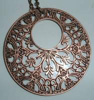 mucha style pendant stock by DemoncherryStock