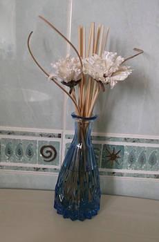 Floral vase stock
