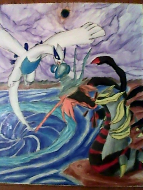 lugia vs giratina wwwpixsharkcom images galleries