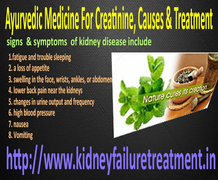 Ayurvedic Treatment useful for Kidney Failure by karmaayurveda519