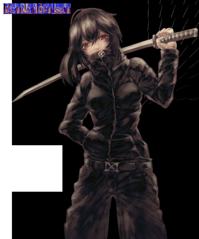 Anime Girl With Sword by RenderRin-san on DeviantArt