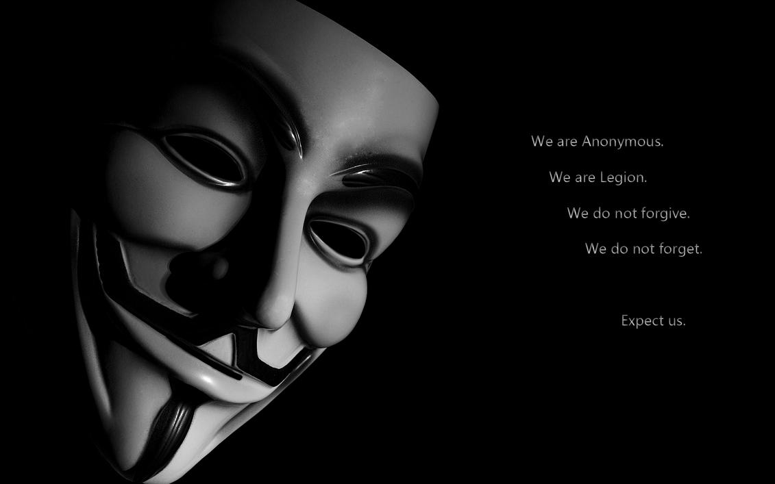 We are ANONYMOUS by ~Kelto-kun on deviantART