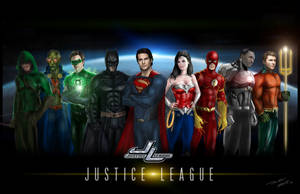 Justice League Movie Concept by OngJ