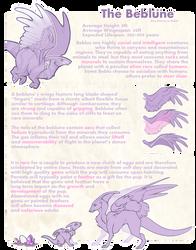 Beblune Species Sheet (Closed Species)