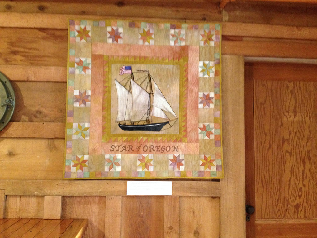 Star of Oregon Quilt by TAHU18