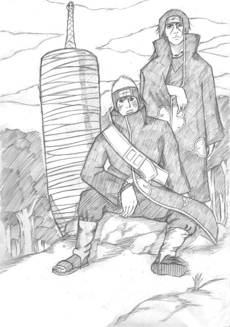 kisame and itachi by kirawatball