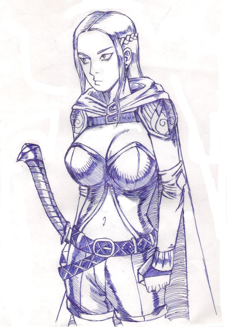 character sketch 3 by kirawatball