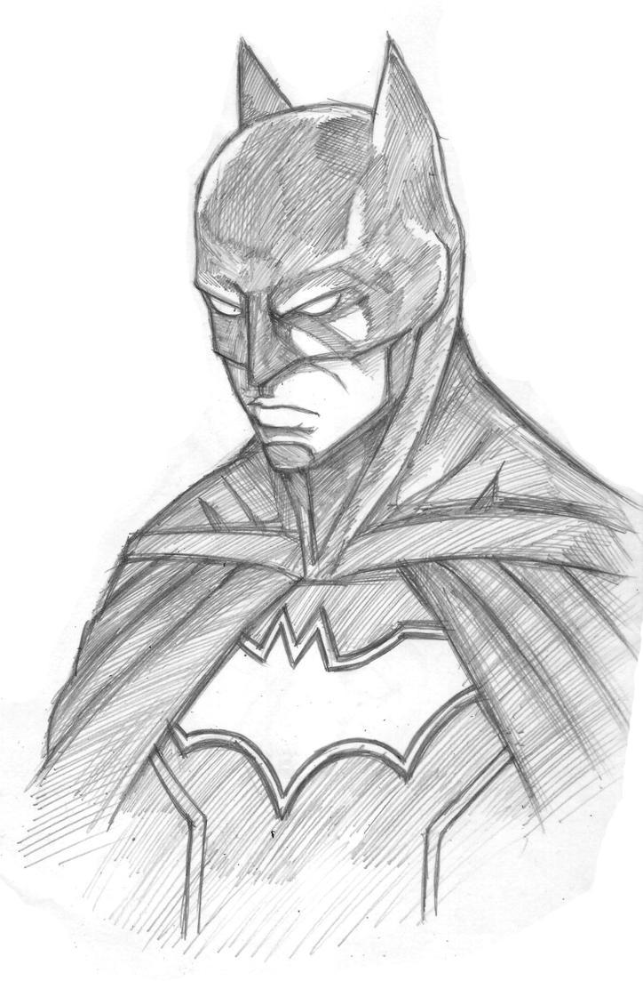 BATMAN by kirawatball