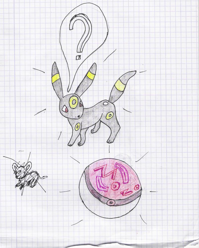 Mes dessin sur papier ^^ Noctali_by_deashnat-d3fyh5k