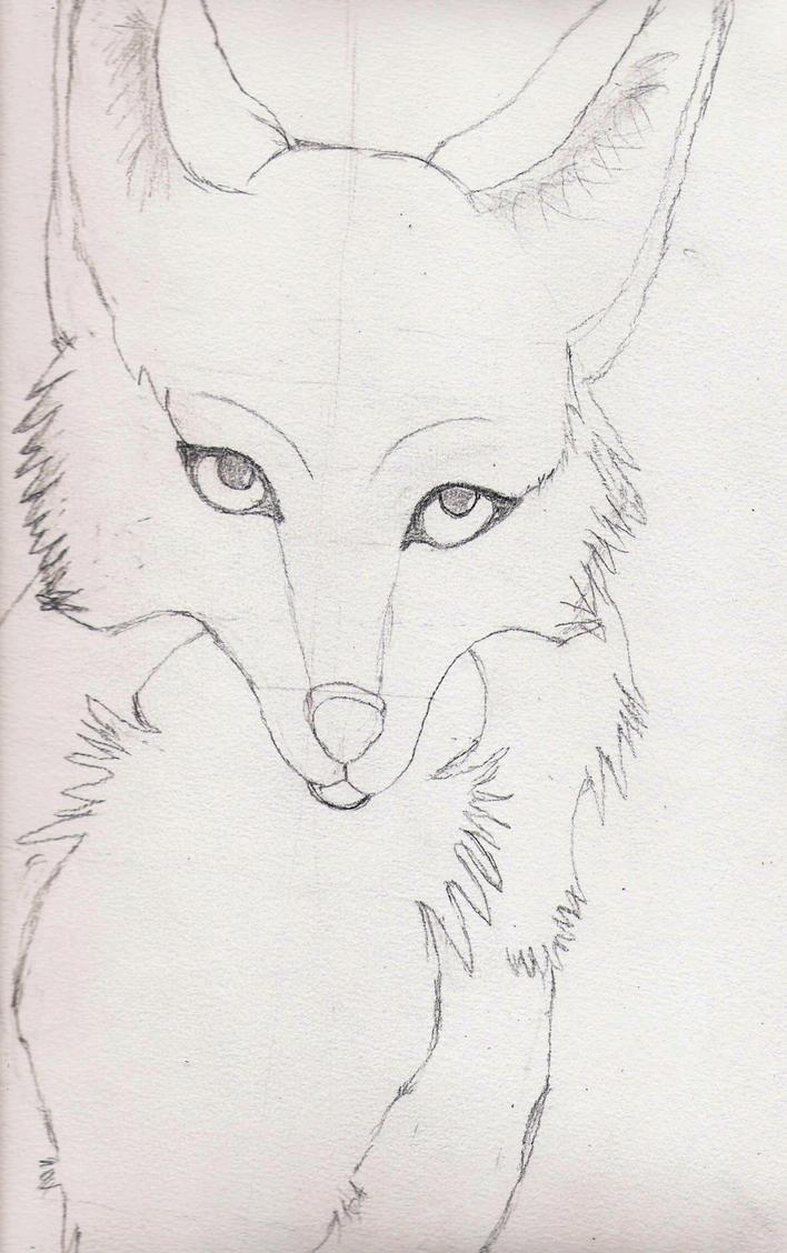 Mes dessin sur papier ^^ Shoona_la_renarde_by_deashnat-d3gmzzo