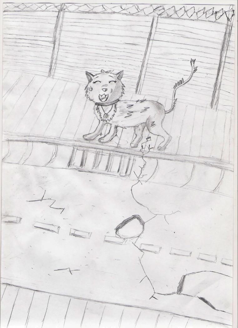 Mes dessin sur papier ^^ Cat_alise_by_deashnat-d3gx088