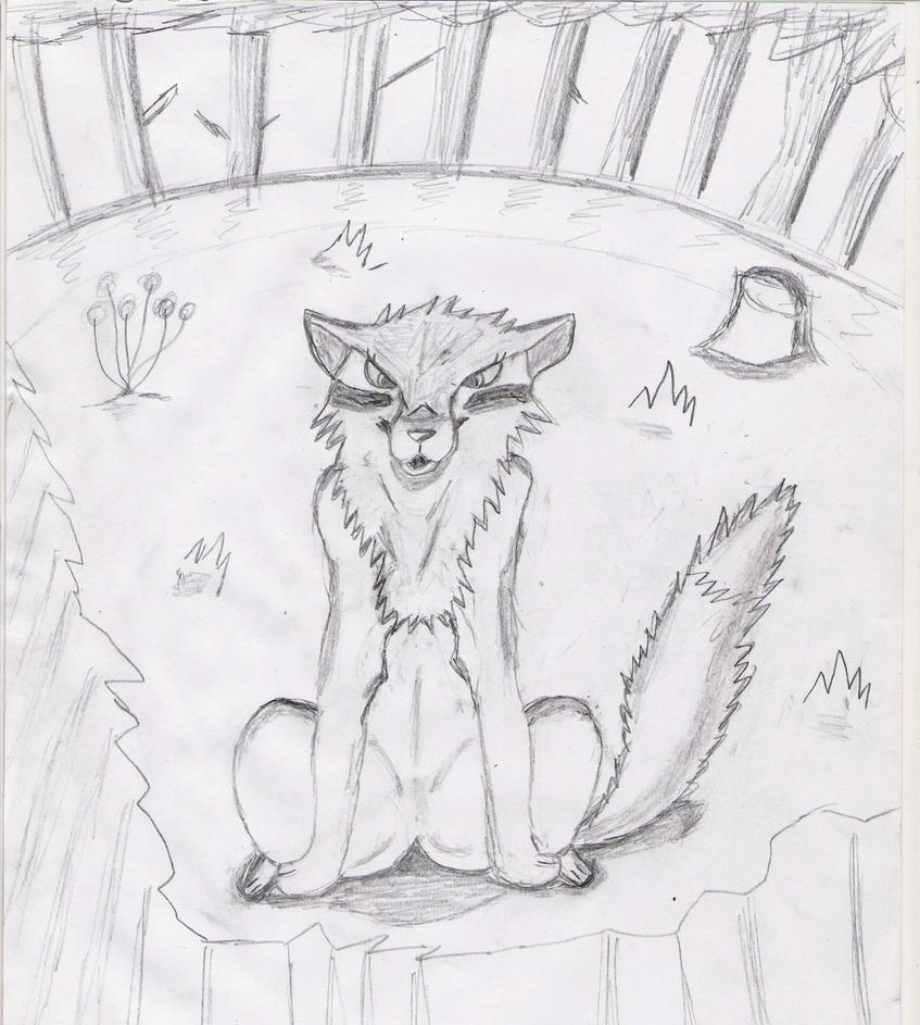 Mes dessin sur papier ^^ Louve_kelbyna_by_deashnat-d3gx0ct