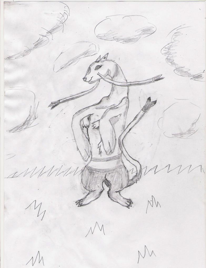 Mes dessin sur papier ^^ Kachimel_by_deashnat-d3gz4ip