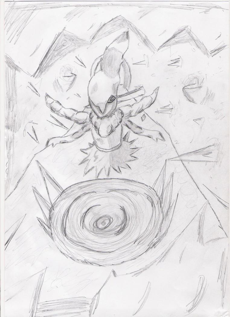 Mes dessin sur papier ^^ Darkrai_by_deashnat-d3h4tdq