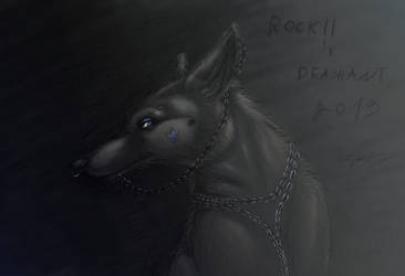 Rock Wolf by Deashnat