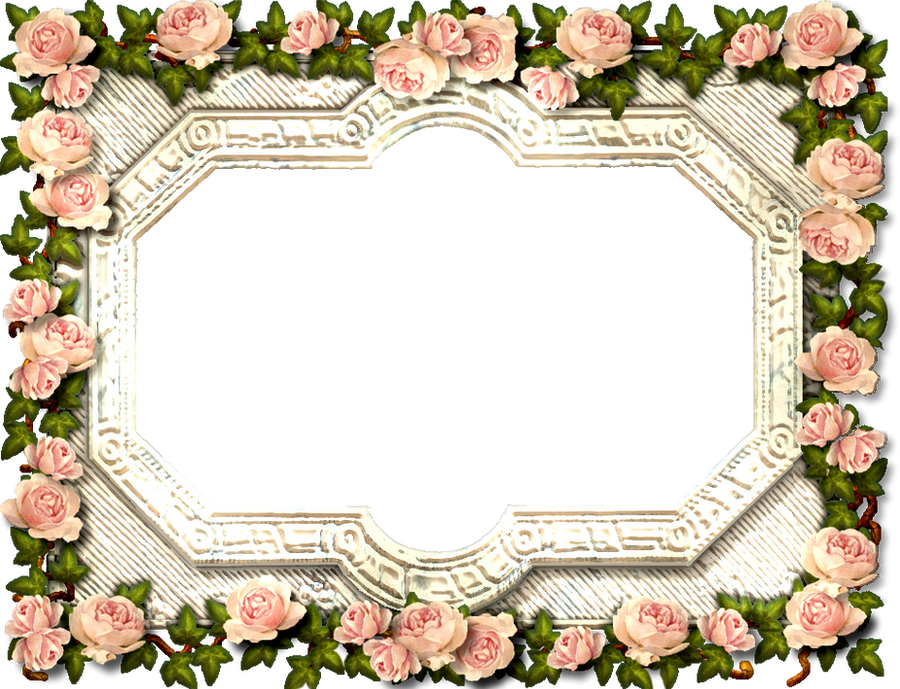 Antique Rose Frame by ScrapBee on DeviantArt