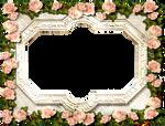 Antique Rose Frame