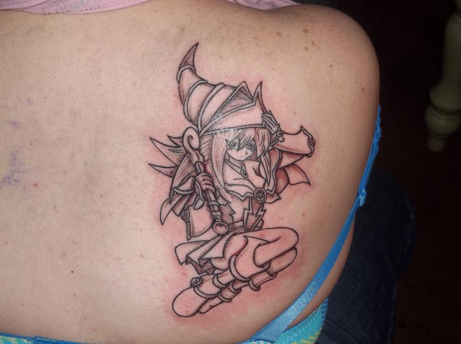 Dark Magician Girl Tattoo by DarkMagicianCatGirlYugioh Monster Tattoo