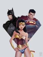 Justice league by edouardrelou