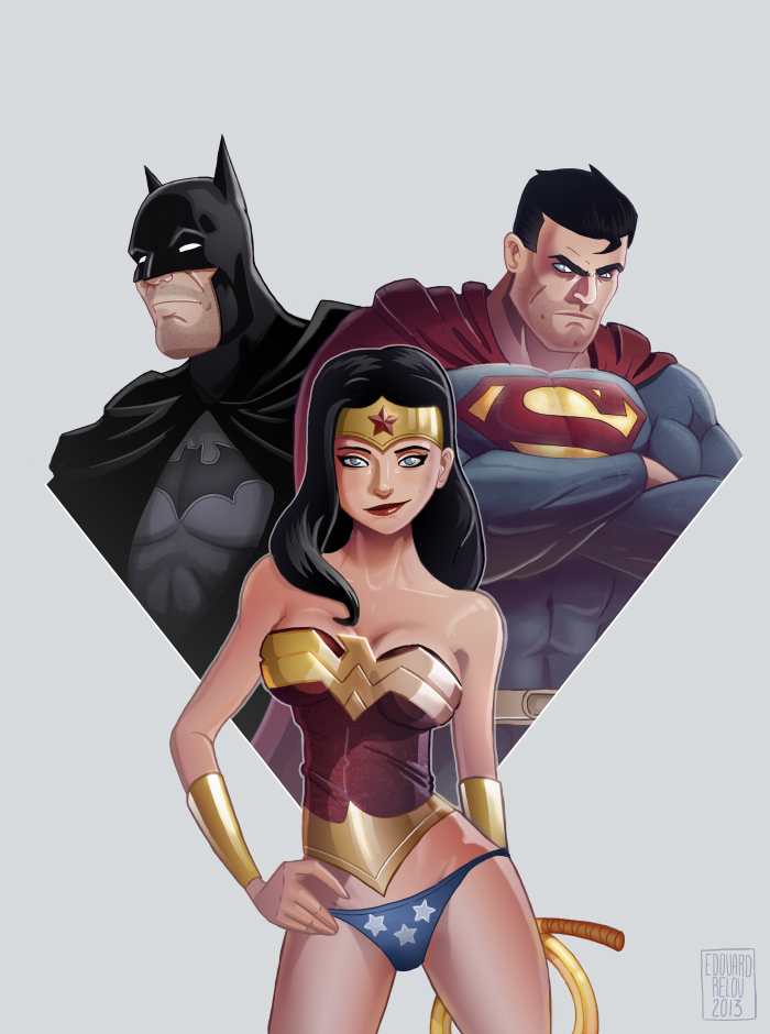Justice league by edouardrelou