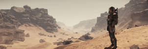 Star Citizen 3.0 - Daymar Surface Panoramic