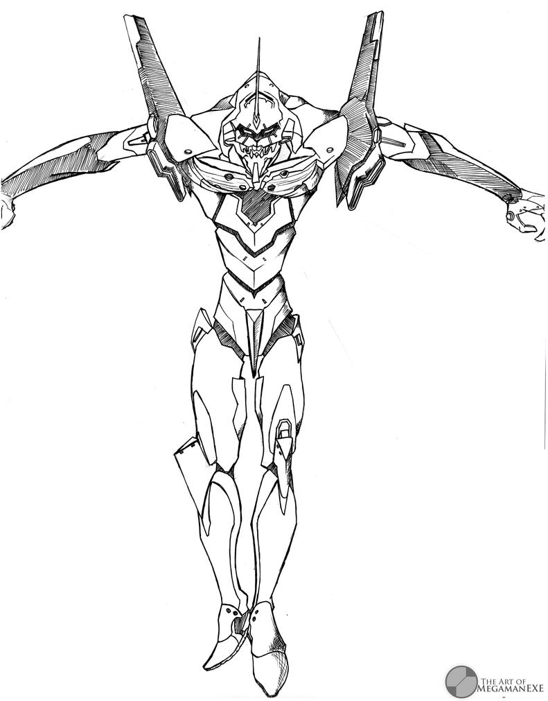 Neon Genesis: Evangelion - Unit 01 by Megaman-EX