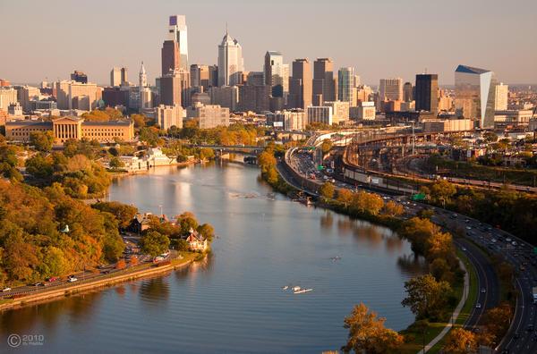 Philadelphia Skyline by PdaMai