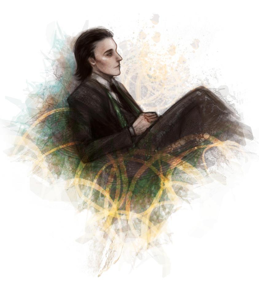 Loki by AmyWinterbreeze