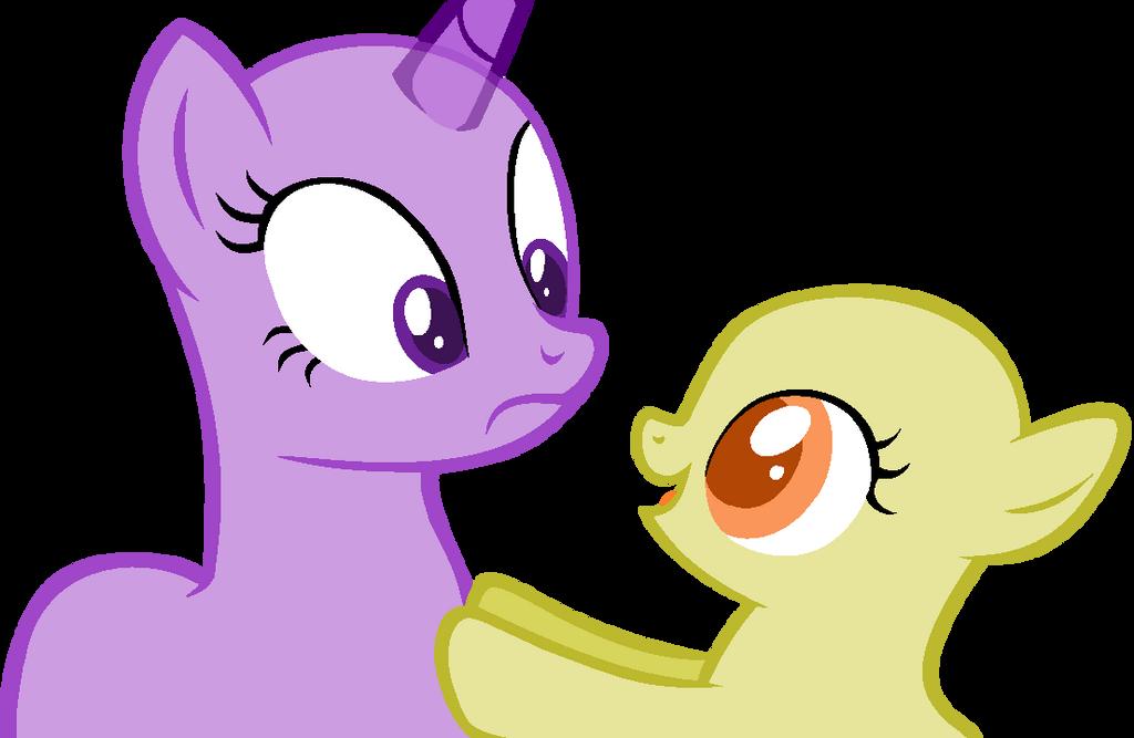 Mlp Grey Ponies Base Ms Paint Friendly