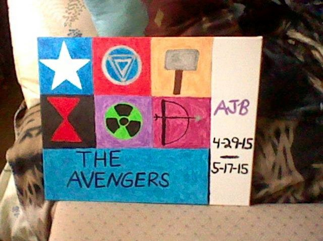 Avengers Painting by zoey17