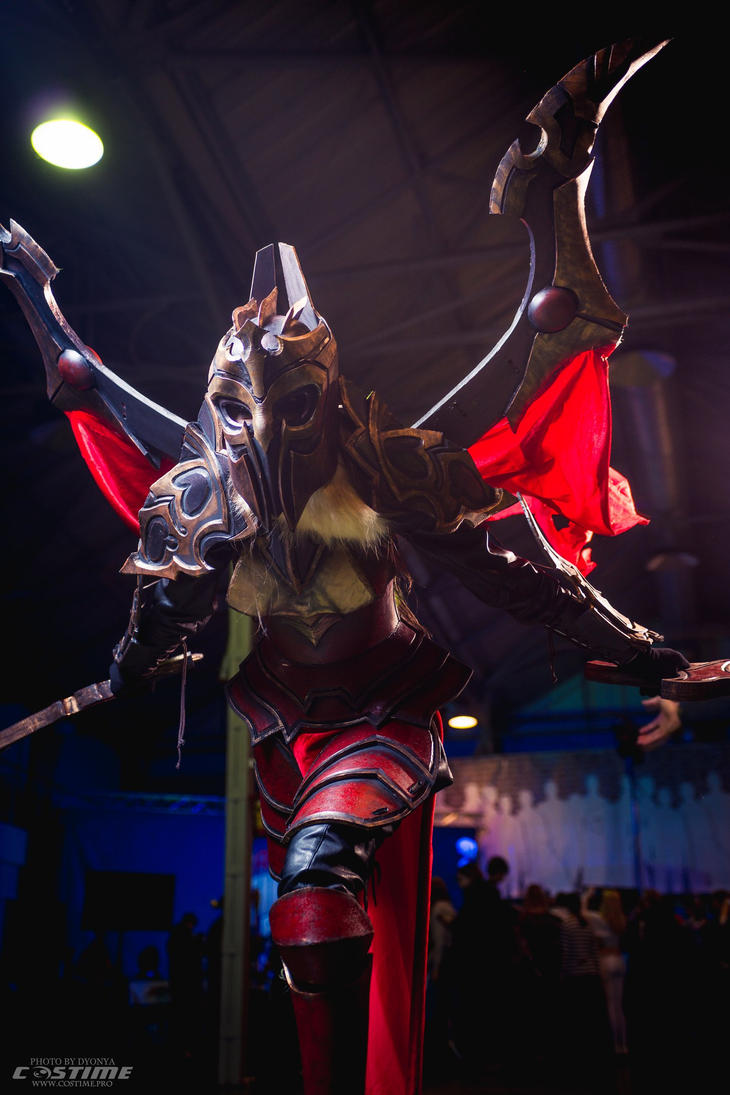 Legion Commander cosplay : Dota 2 by MightyRaccoon on ...