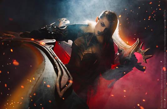 Dota 2 : Legion Commander cosplay