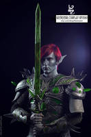 Dunmer in a Glass Armor