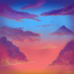 Cloudy Sky by Aramee
