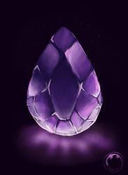 Amethyst Gemstone by Aramee