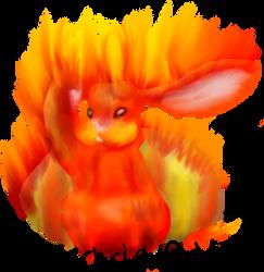 Lively Flames awake