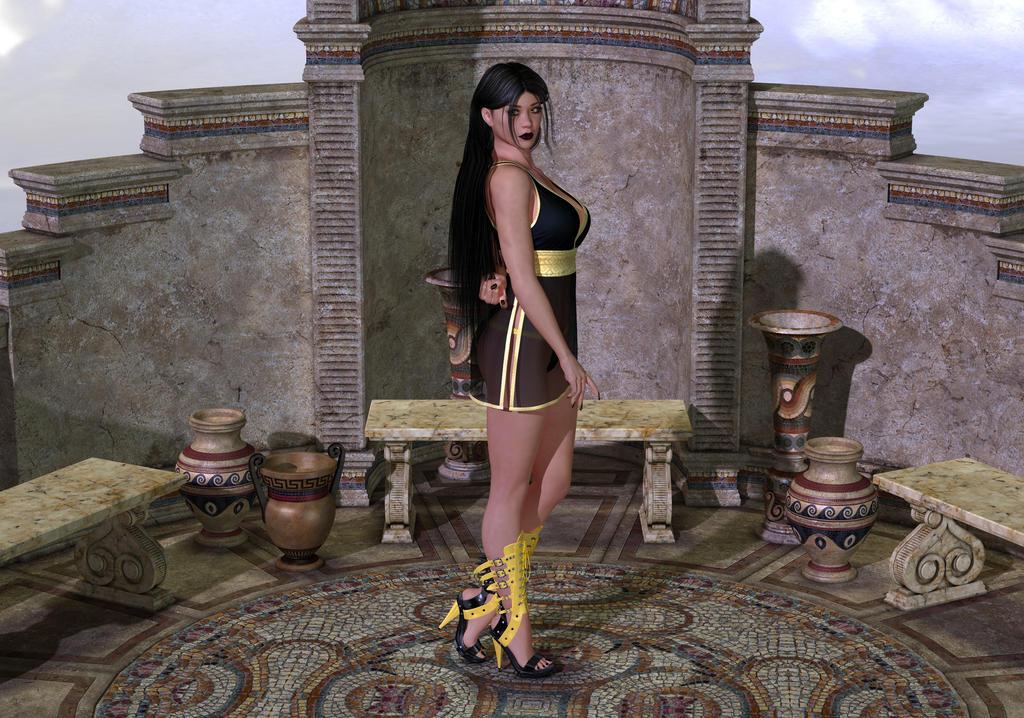 Venus Erycina On Mount Olympus by dullboy