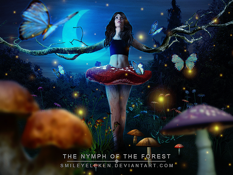The Nymph Of The Forest - Manipulation by SmileyEleken