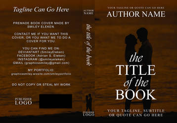 Premade Book Cover For Sale #2 by SmileyEleken