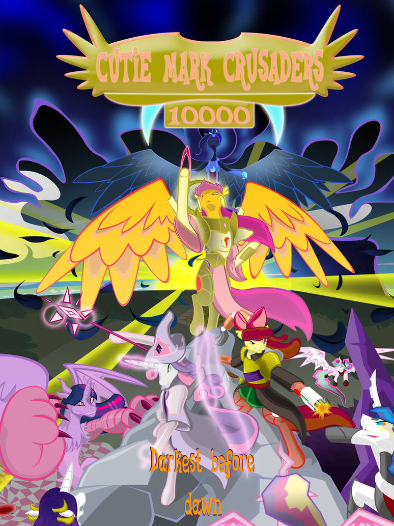 Cutie Mark Crusaders 10k: Chapter 1 cover by GatesMcCloud