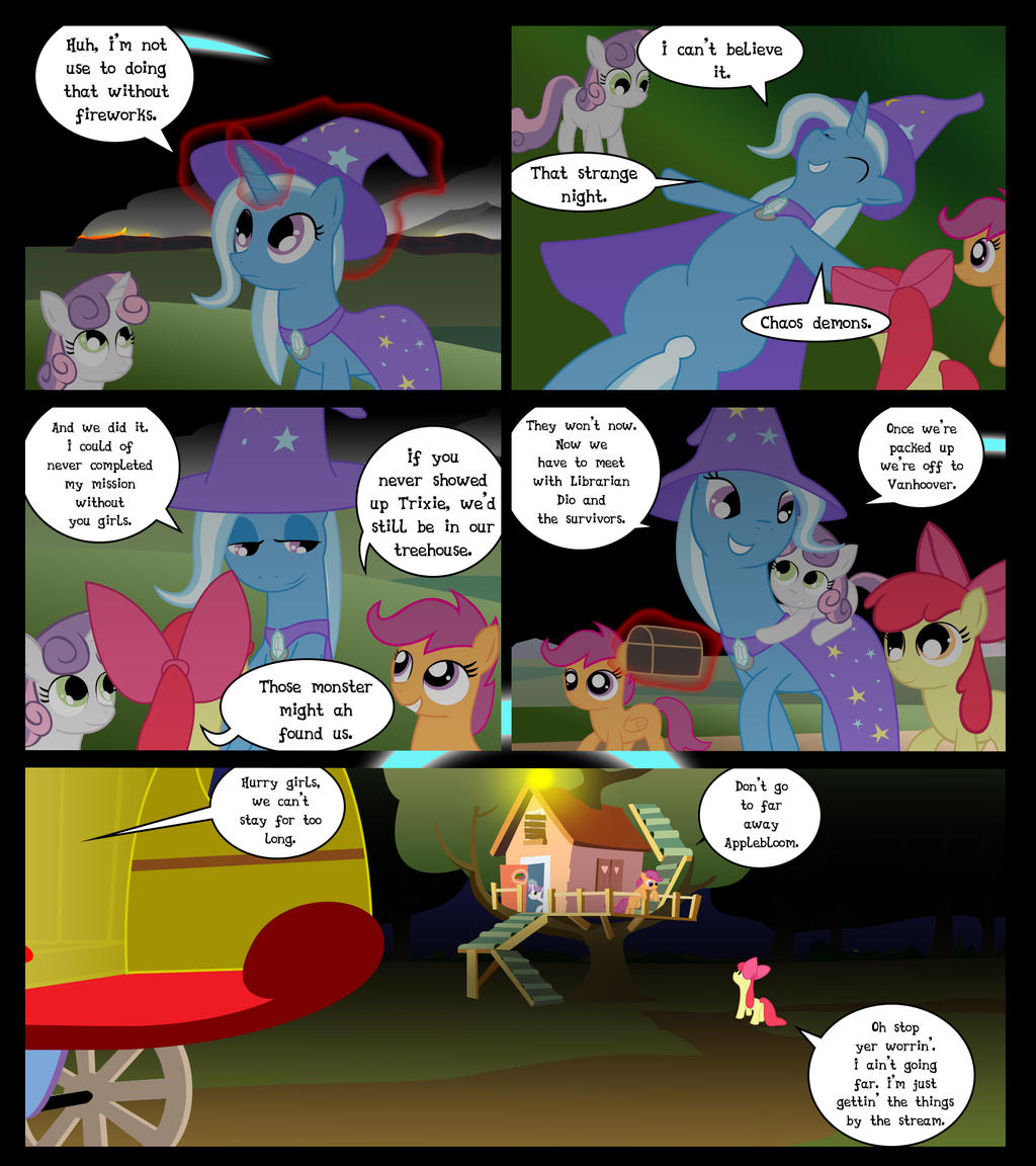 Cutie Mark Crusaders 10k: Lulamoon Page 38 by GatesMcCloud