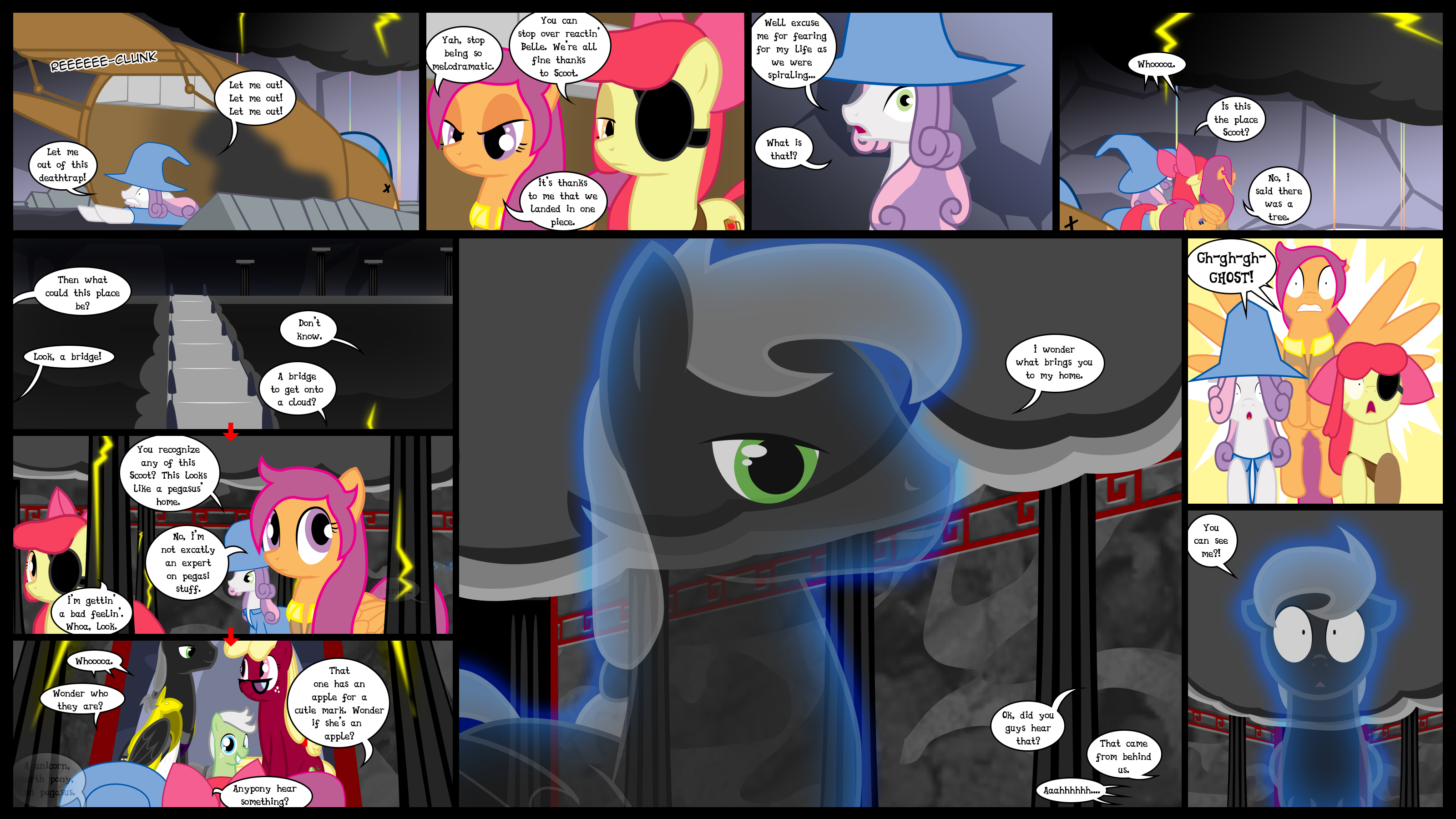 Cutie Mark Crusaders 10k: EoF 05 Mega Page Special by GatesMcCloud