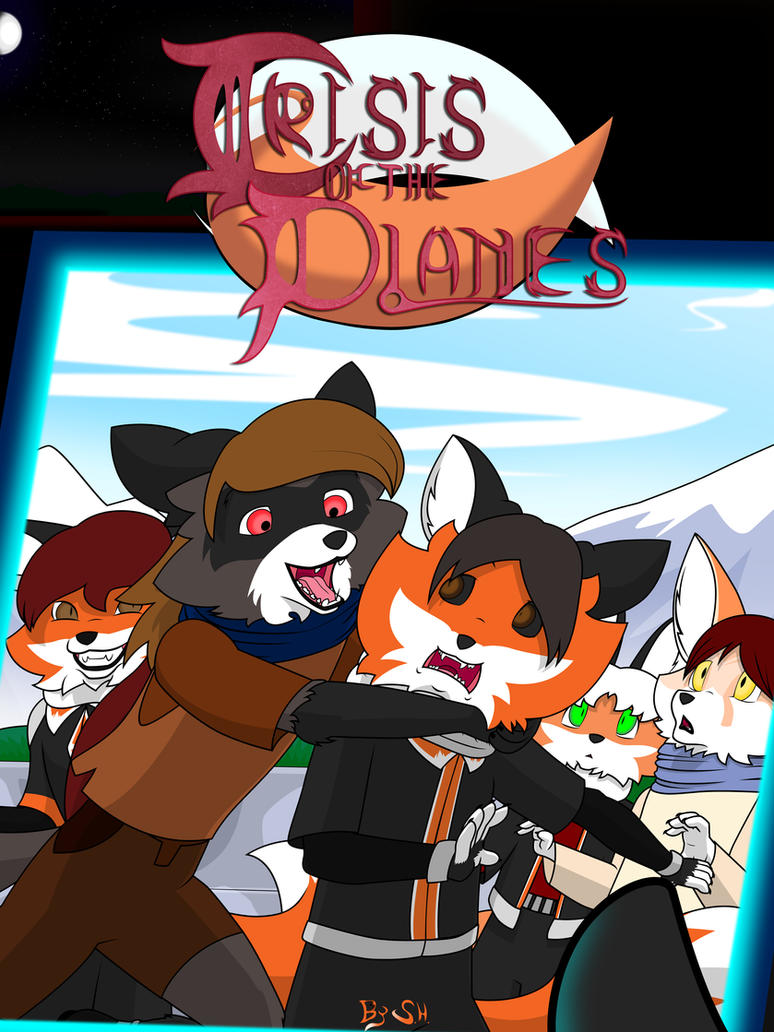 Crisis of the Planes - Issue 3 Cover by GatesMcCloud