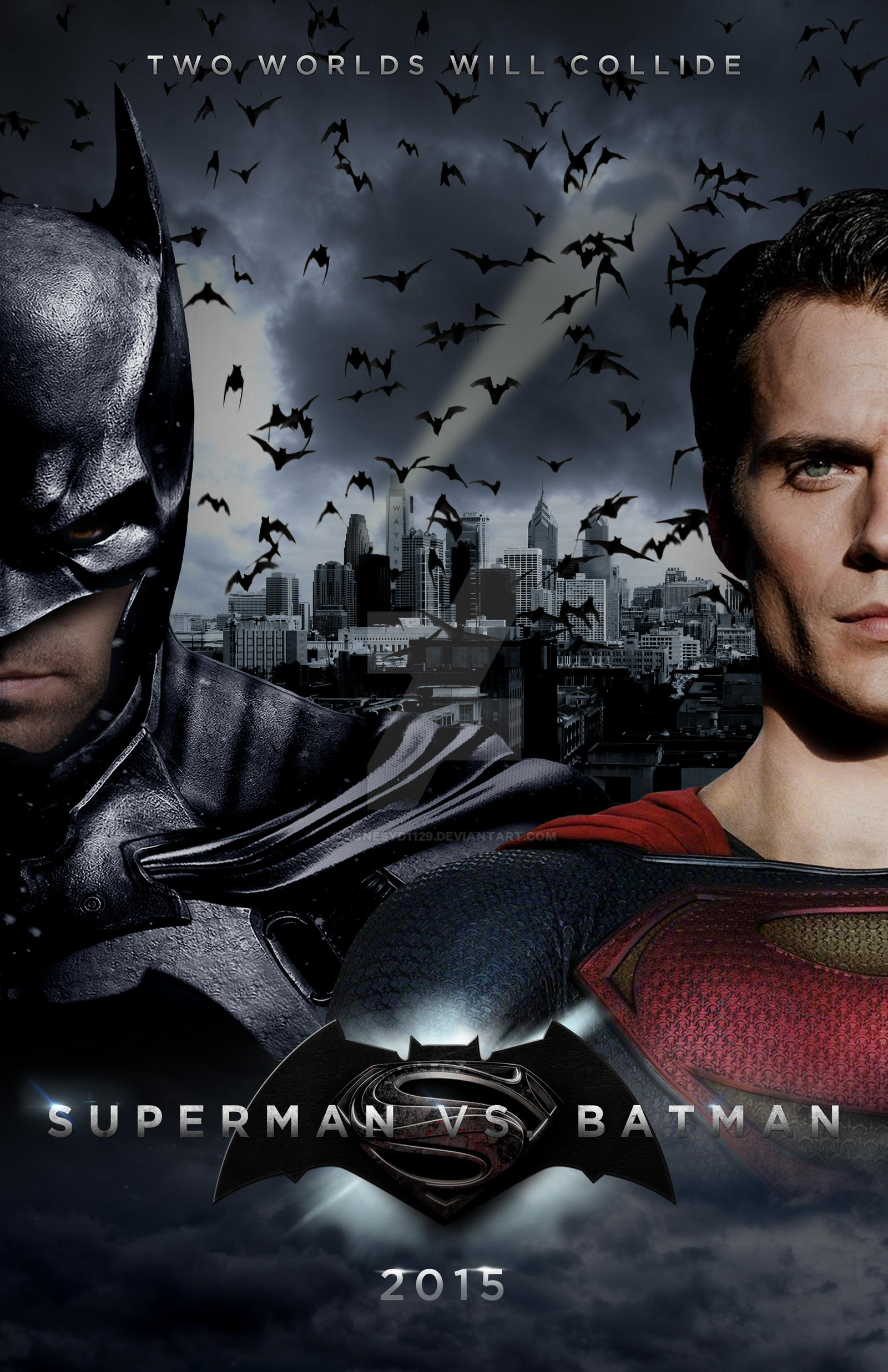 Batman v. Superman: Dawn of Justice Poster 1 by ...