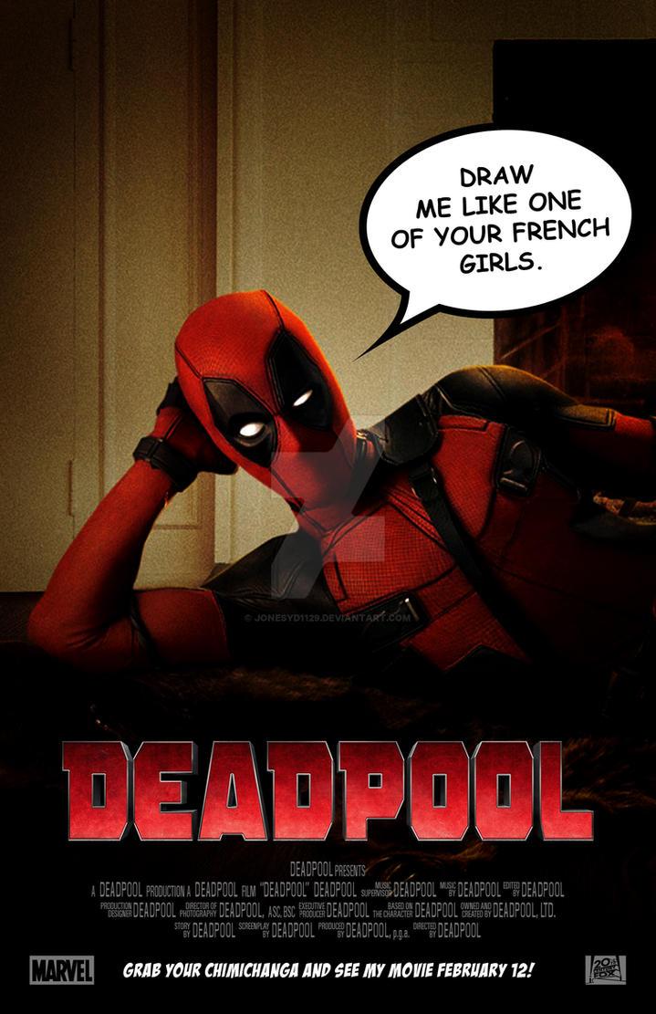 Deadpool Teaser Poster by jonesyd1129 on DeviantArt