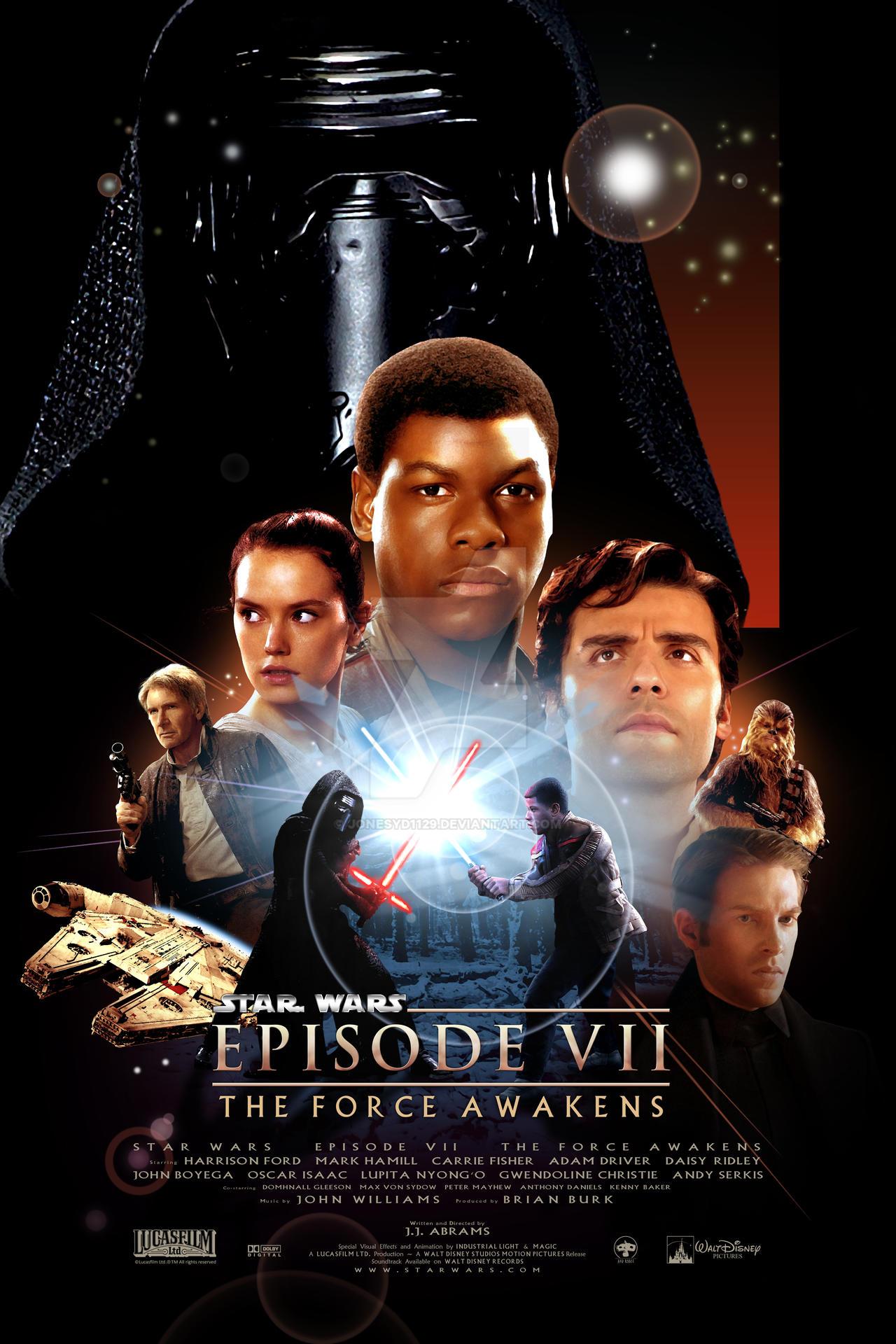 Star Wars Episode Vii Revenge Of The Sith By Jonesyd1129 On Deviantart