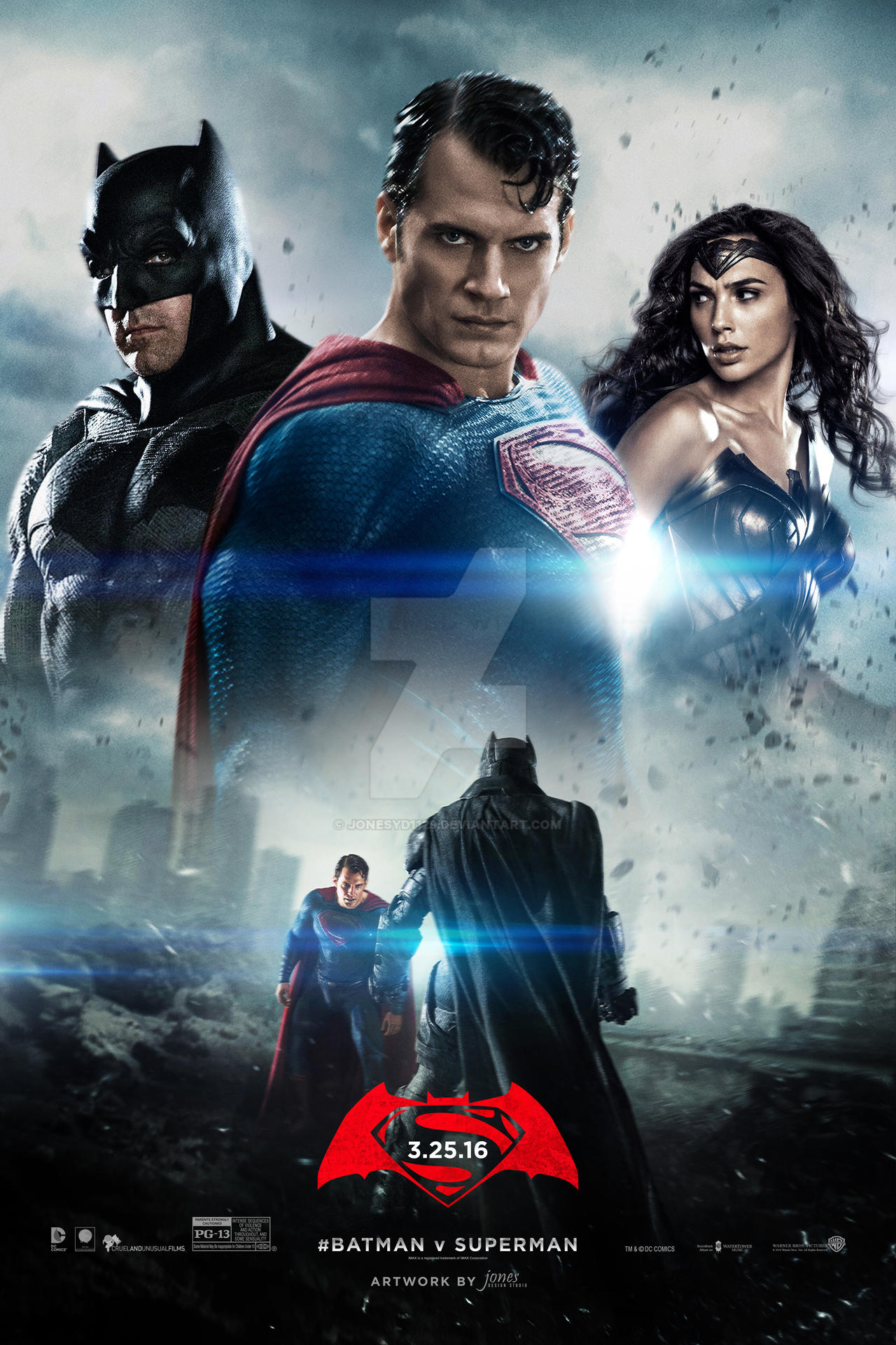 Batman Vs Superman Dawn of Justice 2016 THEATRICAL BluRay 720p x264 Dual Audio Org Hindi-Eng AAC 5.1 Hon3y 1.4GB
