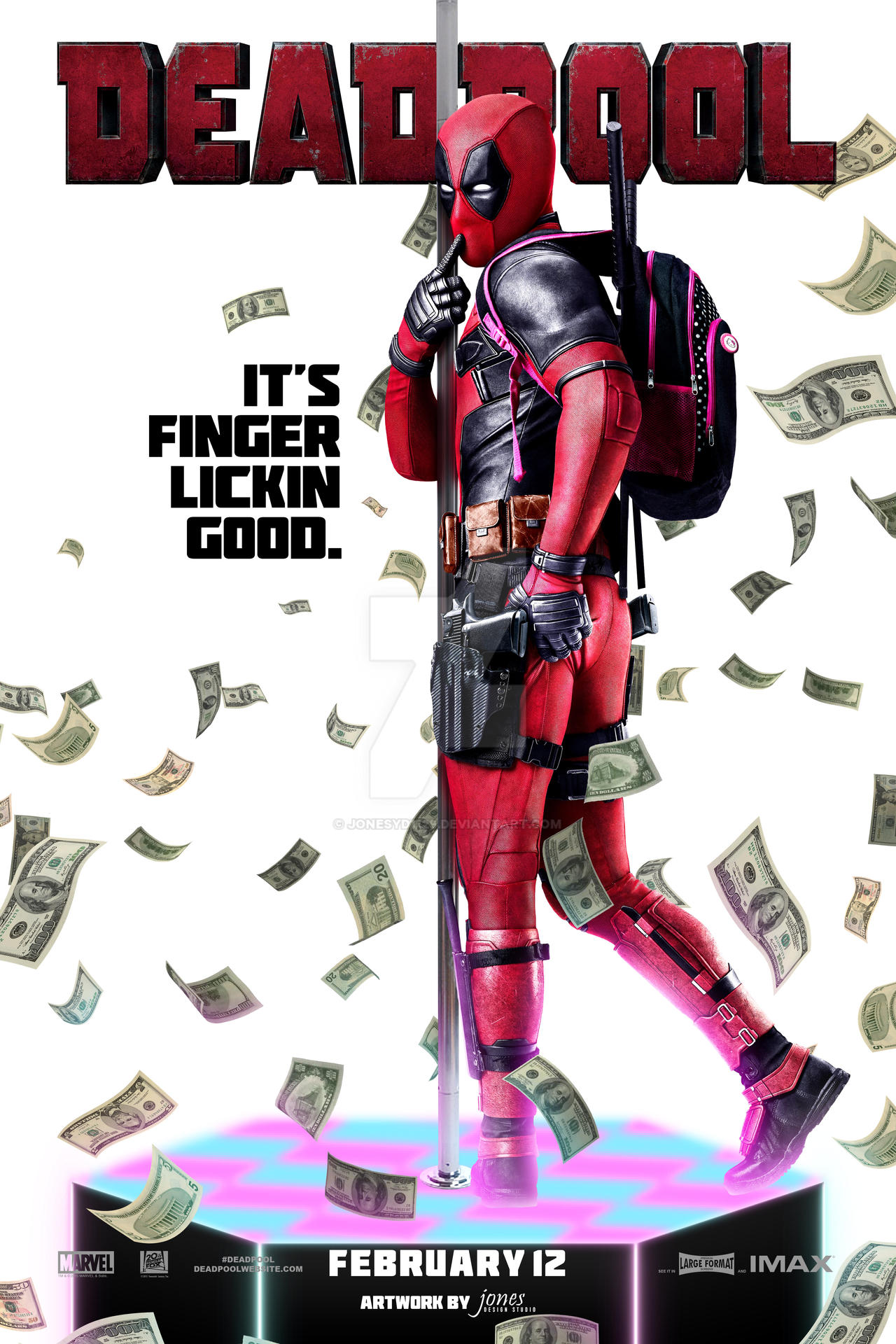 Deadpool Poster by jonesyd1129 on DeviantArt